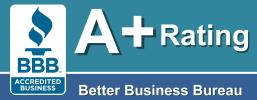 Massachusetts Plumbing Heating & Air Conditioning Company with an A+ Rating with the Better Business Bureau